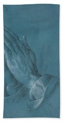 Praying Hands Bath Towel