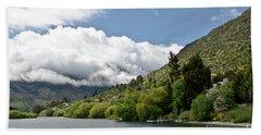 Queenstown New Zealand. Remarkable Ranges And Lake Wakatipu. Bath Towel