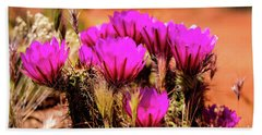 Sedona Cactus Flower Bath Towel
