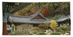 Seonamsa In Autumn Hand Towel