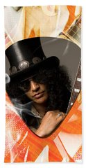 Slash Art Hand Towel