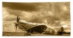 Spitfire Mk Ixb Bath Towel