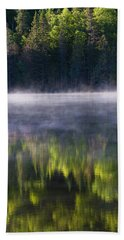 Summer Morning Hand Towel by Mircea Costina Photography