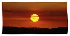 Bath Towel featuring the photograph 4- Sunset by Joseph Keane