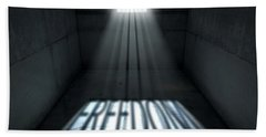 Sunshine Shining In Prison Cell Window Hand Towel