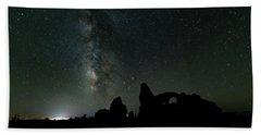 The Milky Way Bath Towel