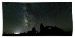 The Milky Way Bath Towel