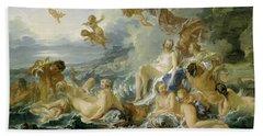 The Triumph Of Venus Bath Towel