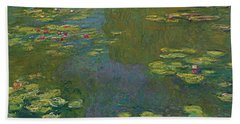The Waterlily Pond Hand Towel