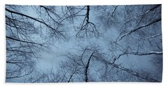 Trees In Epping Forest Hand Towel