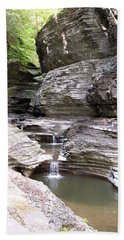 Watkins Glen New York Bath Towel