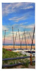41st Street Beach In Ocean City Nj Hand Towel