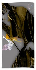 Elvis Presley Collection Hand Towel by Marvin Blaine