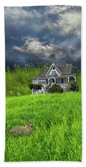 Bath Towel featuring the photograph 4379 by Peter Holme III