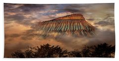 Hand Towel featuring the photograph 4381 by Peter Holme III