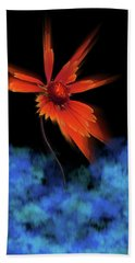 Hand Towel featuring the photograph 4383 by Peter Holme III