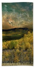 Hand Towel featuring the photograph 4394 by Peter Holme III