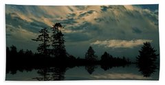 Hand Towel featuring the photograph 4395 by Peter Holme III
