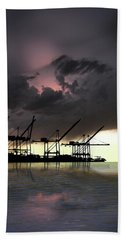 Hand Towel featuring the photograph 4396 by Peter Holme III