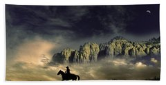 Hand Towel featuring the photograph 4403 by Peter Holme III