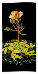 Hand Towel featuring the photograph 4407 by Peter Holme III