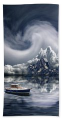 Hand Towel featuring the photograph 4412 by Peter Holme III