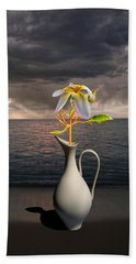 Hand Towel featuring the photograph 4416 by Peter Holme III