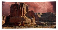 Bath Towel featuring the photograph 4417 by Peter Holme III