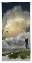 Hand Towel featuring the photograph 4457 by Peter Holme III