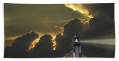 Hand Towel featuring the photograph 4465 by Peter Holme III