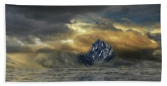 Hand Towel featuring the photograph 4471 by Peter Holme III