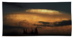 Hand Towel featuring the photograph 4476 by Peter Holme III