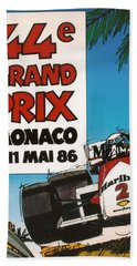 44th Monaco Grand Prix 1986 Hand Towel