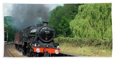 45690 Leander At Grindleford Bath Towel