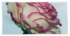 Beautiful Rose Bath Towel