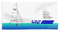 470 Olympic Sailing Bath Towel