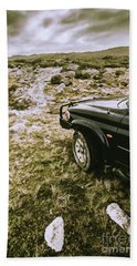 4x4 Tour Tasmania Bath Towel