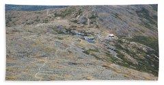 Appalachian Trail - White Mountains New Hampshire Usa Bath Towel