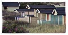 Beach Houses And Dunes Hand Towel