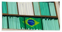Hand Towel featuring the photograph Brazil by Beto Machado