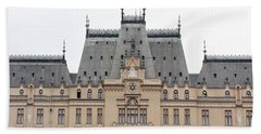 Castle Palace Of Culture In The Romanian City Of Iasi. Hand Towel