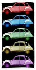 5 Citroens Hand Towel by Andrew Fare