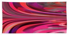 Bath Towel featuring the digital art Color Expression by Mihaela Stancu
