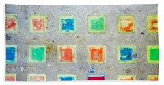 Colorful Tiles Bath Towel
