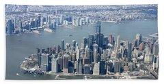 Downtown Manhattan Hand Towel