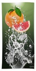 Grapefruit Splash Hand Towel