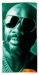 Issac Hayes Collection Hand Towel by Marvin Blaine