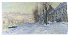 Lavacourt Under Snow Hand Towel