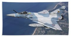 Mirage 2000c Of The French Air Force Hand Towel