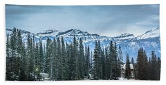 Mountains Bath Towel